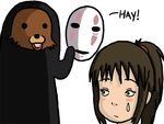 chihiro dklreviews kaonashi no_face pedobear spirited_away