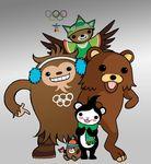 2010-winter-olympics avian bear bird canadian mascot olympics pedobear vancouver