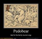 bear bite demotivational_poster forced forest group group_sex gun human humor hunting low_res mammal motivational_poster orgy outside pedobear ranged_weapon rape sex tan theodor_kittelsen tree weapon wood