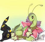 2012 bayleef brother ciel cub daughter father malyabay meganium mother nicobay pokémon red_eyes sister skrien son tartiimons umbreon yellow_eyes young