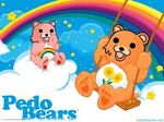 bright_colors care_bears derp flower humor parody pedo_bear pedobear rainbow swing
