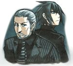 ayame_(0419) father_and_son final_fantasy final_fantasy_xv noctis_lucis_caelum regis_lucis_caelum