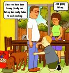 animated bobby_hill hank_hill king_of_the_hill ladybird peggy_hill
