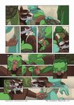 anthro brother comic donatello_(tmnt) erection eyes_closed father father_and_son fellatio gay green_skin group group_sex incest kissing leonardo_(tmnt) male mammal michelangelo_(tmnt) momorawrr oral oral_sex orgy parent penis raphael_(tmnt) rat reptile rodent scalie sex sibling son splinter teenage_mutant_ninja_turtles turtle vein