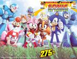 amy_rose badger blue_eyes canine clothing dog female fox gloves green_eyes hedgehog looking_at_viewer machine male mammal mechanical mega_man_(character) mega_man_(series) mega_man_x mega_man_x_(series) metal_sonic mustelid official_art quake_woman red_eyes robot rush sally_acorn sonic_(series) sonic_boom sonic_the_hedgehog sticks_the_jungle_badger thumbs_up