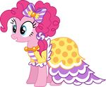 2015 absurd_res alpha_channel blue_eyes clothing dress earth_pony equine female feral friendship_is_magic hair hi_res horse magister39 mammal my_little_pony pink_hair pinkie_pie_(mlp) pony solo
