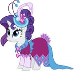 2015 absurd_res alpha_channel clothing dress equine female feral friendship_is_magic hi_res horn magister39 mammal my_little_pony rarity_(mlp) solo unicorn