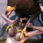 3d avian bestiality big_breasts bird breasts canis3 eagle female feral human interspecies mammal merilyn