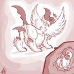 absol blush female mega_evolution nintendo penetration pokémon pussy shikaro unbirthing vaginal vaginal_penetration video_games vore wings