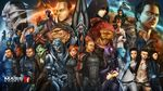 6+boys 6+girls alien android aria_t'loak_(mass_effect) aria_t'loak_(mass_effect) asari ashley_williams black_hair blue_eyes blue_skin blush bodysuit commander_shepard commander_shepard_(female) commander_shepard_(male) dark_skin dark_skinned_male drell edi_(mass_effect) epic everyone extra_eyes facial_hair falere full_body_tattoo garrus_vakarian geth goatee green_skin grey_skin group_picture grunt grunt_(mass_effect) hand_holding harbinger_(mass_effect) hat holographic_monitor illsuive_man interlocked_fingers jack_(mass_effect) jacob_taylor james_vega javik_(mass_effect) joker_(mass_effect) kasumi_goto kolyat_krios krogan legion_(mass_effect) liara_t'soni liara_t'soni mass_effect mass_effect_2 mass_effect_3 matriarch_benezia military military_uniform miranda_lawson mordin_solus multiple_boys multiple_girls mustache power_armor prothean purple_skin quarian reaper red_hair rila robot robot_girl robot_joints salarian samara_(mass_effect) saren_arterius sawa_(saza) scouter short_ponytail sitting sovereign_(mass_effect) sparkle steve_cortez tali'zorah tali'zorah tattoo thane_krios the_illusive_man turian uniform urdnot_wrex very_dark_skin zaeed_massani
