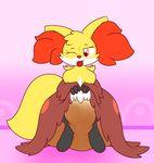 abdl cute delphox diaper feces fur nintendo one_eye_closed paws pokémon scat sir-dancalot squishy tongue video_games wink