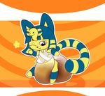 animal_crossing ankha baby cat cute diaper egyptian feces feline invalid_tag mammal nintendo one_eye_closed pad peeing scat sir-dancalot star urine video_games wink young