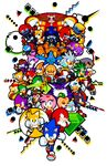 amy_rose bark_the_polar_bear bean_the_dynamite big_the_cat blaze_the_cat caterkiller chaos_zero charmy_bee cheese_the_chao cream_the_rabbit cubot digital_media_(artwork) dr._eggman e-102_gamma e-123_omega egg_pawn espio_the_chameleon jet_the_hawk knuckles_the_echidna metal_knuckles metal_sonic mighty_the_armadillo miles_prower motobug nack_the_weasel orbot pixel_(artwork) ray_the_flying_squirrel rouge_the_bat shadow_the_hedgehog silver_the_hedgehog sonic_(series) sonic_riders sonic_the_hedgehog storm_the_albatross tails_doll tikal_the_echidna vector_the_crocodile wave_the_swallow