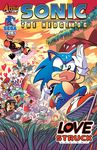 <3 amy_rose archie_comics arrow bat blaze_the_cat breezie_the_hedgehog cat cover cover_page e-123_omega feline ghost ghost_girl hedgehog honey_the_cat machine mammal official_art robot rodent rouge_the_bat sally_acorn sonic_(series) sonic_the_hedgehog spirit squirrel