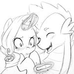 dragon duo equine female friendship_is_magic horn horse kilala97 magic male mammal my_little_pony pony pregnant rarity_(mlp) scalie spike_(mlp) unicorn wings