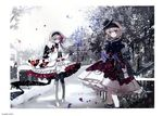 alice_margatroid alice_margatroid_(young) cierra_(artist) dress gap gothic_lolita heels lolita_fashion pantyhose ringlet touhou wa_lolita