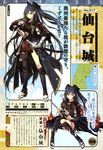 anthropomorphization kuwashima_rein sendai_(shirohime_quest) shirohime_quest sword thighhighs torn_clothes