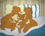 age_difference animal_genitalia anthro areola balls bear breast_fondling breast_suck breasts brown_fur cub digital_media_(artwork) father father_and_son father_bear female fondling fur hand_on_breast incest little_bear little_bear_(character) lying male male/female male/male mammal mature_female mother mother_and_son mother_bear nelson88 nipples nude parent penis sheath size_difference son sucking young