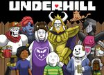 asgore_dreemurr asriel_dreemurr bone boss_monster canine caprine crossover dog english_text fence fish garththeundying goat group human jerry_(undertale) king_of_the_hill machine mammal marine mettaton papyrus_(undertale) parody protagonist_(undertale) robot sans_(undertale) skeleton temmie_(undertale) text toriel undertale undyne video_games