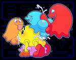 anal balls blinky clyde cum ghost group group_sex inky male male/male not_furry orgy pac-man pac-man_(series) pac-man_and_the_ghostly_adventures penis pinky sex spice5400 spirit toony video_games