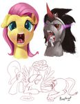 avian equine female fluttershy_(mlp) friendship_is_magic gilda_(mlp) gryphon horn horse king_sombra_(mlp) male mammal my_little_pony open_mouth pegasus pinkie_pie_(mlp) pony ponythroat shining_armor_(mlp) unicorn uvula vore wings