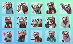 <3 2016 4_fingers ? anthro armwear bent_over black_eyes black_fur black_tail blue_background blue_clothing blue_fur blue_nose blue_tongue blue_topwear blush briefs brown_fur brown_hair brown_tail canine clothed clothing collar confusion crossed_arms digital_media_(artwork) duo ear_piercing elbow_gloves eyebrows eyes_closed facepalm facial_piercing fangs fingerless_(marking) frown fur gloves green_fur green_hair green_tail grey_clothing grey_shirt grey_topwear hair half-closed_eyes happy hoodie howl hug inner_ear_fluff kilowolff leash lip_piercing lying male mammal multicolored_fur multicolored_hair multicolored_tail nose_piercing nose_ring nowandlater nude on_front one_eye_closed open_mouth pictographics piercing purple_clothing purple_topwear septum_piercing shirt short_hair short_tail shy signature simple_background small_tail smile smirk solo_focus speech_bubble spiral_eyes standing star star_eyes tailwag tan_fur tan_tail teeth tired tongue tongue_out tongue_piercing two_tone_hair two_tone_tail underwear waving white_fur white_hair white_tail wolf
