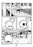 2016 animated_skeleton bone c-puff comic english_text mammal papyrus_(undertale) sans_(undertale) skeleton text undead undertale video_games