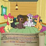 apple apple_bloom_(mlp) apple_tree bitterplaguerat cloud comic dialogue earth_pony english_text equine food friendship_is_magic fruit horn horse loki_(bitterplaguerat) mammal my_little_pony pegasus pony scootaloo_(mlp) sweetie_belle_(mlp) text unicorn wings