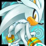 cristianharold0000 hedgehog male mammal silver_the_hedgehog solo sonic_(series) tagme