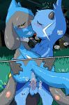 anus balls blush cum cum_in_pussy cum_inside dewott duo erection eyes_closed female hand_on_butt holding_partner kissing male male/female mastery_position nintendo orgasm penetration penis pokémon pokémon_(species) pussy riolu ryouta_sumeragi sex vaginal vaginal_penetration video_games
