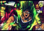 1girl 4boys anger_vein armor aura beard black_eyes black_hair broly_(dragon_ball_super) character_request cheelai chinese_commentary clenched_teeth collarbone commentary_request constricted_pupils dragon_ball_super_broly emphasis_lines facial_hair green_skin grey_hair hat koissa multiple_boys mustache one_eye_closed open_mouth orange_skin pink_eyes red_eyes red_hair scar scouter short_sleeves silver_hair son_gokuu sweat teeth upper_body v-shaped_eyebrows yellow_eyes yellow_hat yellow_sclera