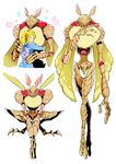 alien arthropod carapace cute female fluffy human insect insect_wings japanese_text luminoth male mammal metroid moth nintendo niwa red_eyes samus_aran tall text translation_request video_games wings zero_suit