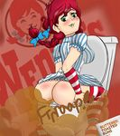 ass english_text farting female text wendy's