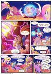 2017 applejack_(mlp) comic discord_(mlp) equine explosion female fluttershy_(mlp) friendship_is_magic glowing glowing_eyes hi_res horn horse light262 male mammal my_little_pony pegasus pinkie_pie_(mlp) pony rainbow_dash_(mlp) rarity_(mlp) twilight_sparkle_(mlp) unicorn winged_unicorn wings