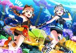 heels love_live!_sunshine!! takami_chika thighhighs wallpaper watanabe_you