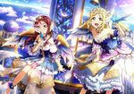 angel heels love_live!_sunshine!! ohara_mari sakurauchi_riko wallpaper wings