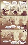 anthro bonnie_hopps clothed clothing comic cub disney english_text female gideon_grey judy_hopps lagomorph male mammal mistermead nick_wilde rabbit speech_bubble text young zootopia