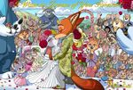 2017 3_fingers 3_toes 4_fingers absurd_res antelope anthro arctic_shrew bear benjamin_clawhauser black_wool blush bonnie_hopps borba bovine brown_fur buckteeth bucky_oryx-antlerson buffalo canine cape_buffalo caprine cheering cheetah chief_bogo clapping claws clothed clothing comic cotton_(zootopia) crying dipstick_ears dipstick_tail disgust disney dress ears_down ears_up elephant emmitt_otterton english_text eyes_closed eyewear feline female flash_slothmore floral_crown flower flower_petals fox francine_pennington fru_fru fur gazelle gazelle_(zootopia) gideon_grey grey_fur group happy hawaiian_shirt hi_res hippopotamus hooves horn inner_ear_fluff john_wilde judy_hopps kissing koslov kudu lagomorph large_crowd lily_(flower) male mammal mr._big mr_wilde mrs._otterton mrs_wilde multicolored_tail mustelid necktie nick_wilde officer_fangmeyer officer_higgins orange_fur oryx otter otto_hopps pawpads petals plant polar_bear police_uniform pronk_oryx-antlerson rabbit red_fox ring rose sharla_(zootopia) sheep shirt shrew sloth smile spots stripes stu_hopps suit suit_jacket sunglasses sunhat tears teeth text tiger toes tongue tongue_out uniform wedding wedding_dress wedding_ring white_fur wolf wolford wool yellow_fur zootopia