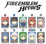 aqua_(fire_emblem_if) armor berkut_(fire_emblem) black_hair blue_eyes blue_hair chibi dress elise_(fire_emblem_if) fire_emblem fire_emblem:_fuuin_no_tsurugi fire_emblem:_kakusei fire_emblem:_rekka_no_ken fire_emblem_echoes:_mou_hitori_no_eiyuuou fire_emblem_if green_hair headband lilina long_hair looking_at_viewer male_my_unit_(fire_emblem:_kakusei) mother_and_son my_unit_(fire_emblem:_kakusei) ninian nino_(fire_emblem) olivia_(fire_emblem) open_mouth ponytail red_eyes red_hair roy_(fire_emblem) short_hair smile tiamo twintails veil white_hair yellow_eyes