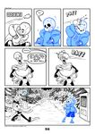 2017 animated_skeleton bone c-puff clothed clothing comic english_text group hi_res humanoid not_furry papyrus_(undertale) sans_(undertale) skeleton text undead undertale video_games
