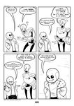 2017 animated_skeleton bone c-puff clothed clothing comic english_text group hi_res humanoid mammal not_furry papyrus_(undertale) sans_(undertale) skeleton text undead undertale video_games