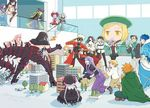 6+boys 6+girls archer archer_(fate/extra) asterios_(fate/grand_order) balcony bangs beret black_gloves black_hat blonde_hair blue_hair bob_cut braid bubble_skirt cape caster cellphone charles_henri_sanson_(fate/grand_order) child_gilgamesh cu_chulainn_(fate/grand_order) cu_chulainn_alter_(fate/grand_order) dark_skin dark_skinned_male dated dress elbow_gloves euryale fate/extra fate/grand_order fate/hollow_ataraxia fate/stay_night fate_(series) fire fujimaru_ritsuka_(male) gloves green_cape green_hat green_jacket hat hood ishtar_(fate/grand_order) jacket lancer lavender_hair marie_antoinette_(fate/grand_order) mash_kyrielight mask matou_sakura medb_(fate/grand_order) model_city multiple_boys multiple_girls necktie nursery_rhyme_(fate/extra) orange_hair parted_bangs parvati_(fate/grand_order) paul_bunyan_(fate/grand_order) phone pink_hair recording red_jacket red_neckwear short_hair silver_hair sitting skirt smartphone spiked_hair staff sumio_(mas_maru) tail thighhighs tohsaka_rin twin_braids twitter_username uniform white_hair white_legwear wolfgang_amadeus_mozart_(fate/grand_order) yellow_eyes