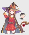 bandages cosplay dress hika_(cross-angel) karakai_jouzu_no_takagi-san kono_subarashii_sekai_ni_shukufuku_wo! nishikata takagi-san thighhighs weapon witch