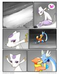 butt comic darkmirage dragonair feathered_wings feathers female female/female feral floatzel fur head_wings hi_res kissing licking mienshao multi_tail night nintendo orange_fur outside pokémon pokémon_(species) purple_fur pussy red_eyes redoxx tongue tongue_out video_games water wings