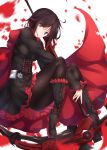 numpopo pantyhose ruby_rose rwby weapon