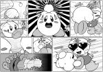 2018 blush bobblehat clothed clothing comic erection eyes_closed female kirby kirby_(series) kissing male male/female nintendo not_furry open_mouth penetration penis poppy_bros_jr sex smile video_games waddling_head