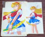 akazukin_chacha arrow blonde_hair bow cel magical_princess official open_eyes