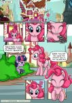 2018 blue_eyes comic cutie_mark detailed_background digital_media_(artwork) duo female feral friendship_is_magic hair my_little_pony mysticalpha pink_hair pinkie_pie_(mlp) smile twilight_sparkle_(mlp)