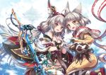 2girls japanese_clothes jpeg_artifacts tagme_(artist) tagme_(character) xenoblade