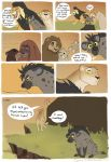 better_version_at_source brown_fur comic feline female feral fur hyena laphund lion male mammal orange_fur spots spotted_fur tan_fur text